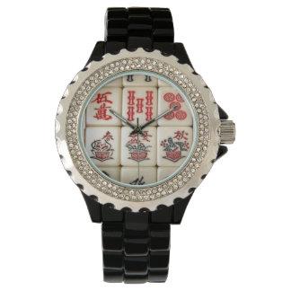 Mahjong tiles watch