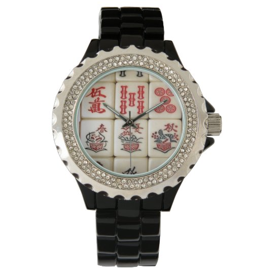 Mahjong tiles watches