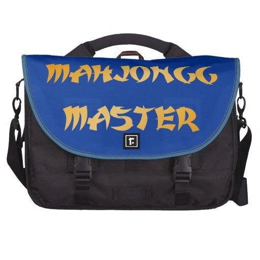 Mahjongg master commuter bags