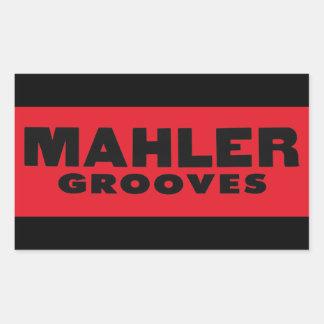 Mahler cannelle l'autocollant