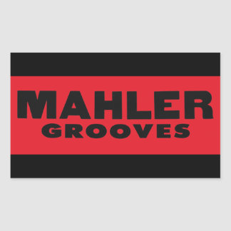 Mahler Grooves Sticker