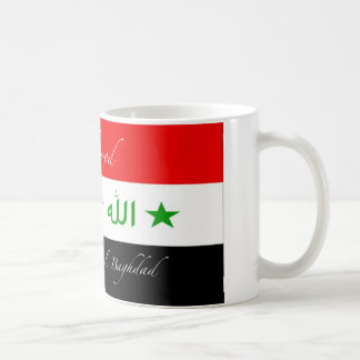 Mahmood Mug - Old Iraq Flag