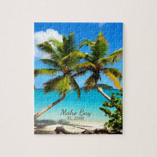 Maho Bay Beach St. John Puzzle