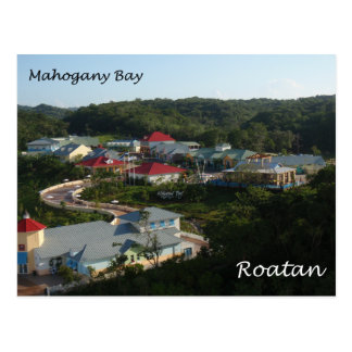 Mahogany Bay, Roatan Postcard
