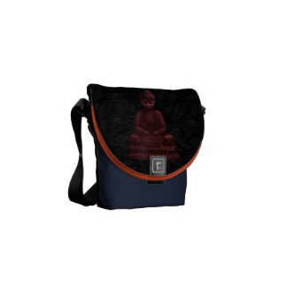 Mahogany Buddha Pixel Art Commuter Bags