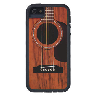 Mahogany Top Acoustic Guitar iPhone 5 Case