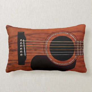 Mahogany Top Acoustic Guitar Pillows