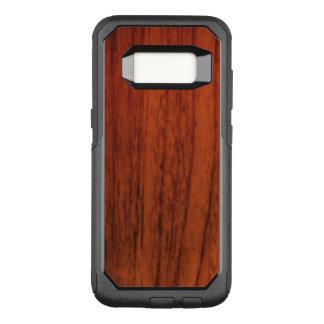 Mahogany Wood OtterBox Commuter Samsung Galaxy S8 Case