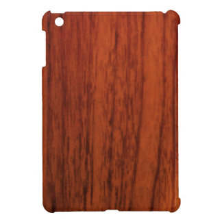 Mahogany Wood Print iPad Mini Covers