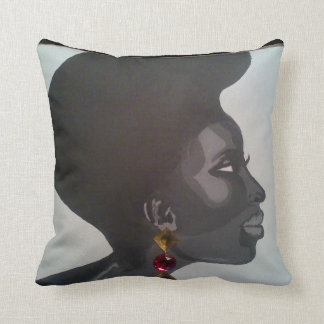 Mahogony Throw Pillow