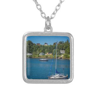 Mahone Bay Silver Plated Necklace