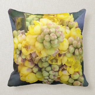 Mahonie Oregon Grape Zierkissen 50.1 cm x 05.1 cm Throw Pillow