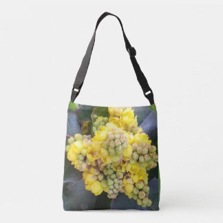 Mahonie Oregon GrapeTrageta with long carriers Crossbody Bag