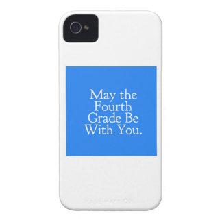 Mai la 4ème catégorie soit avec vous cadeau étui iPhone 4