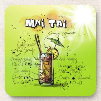 Mai Tai - Cocktail Gift Drink Coaster