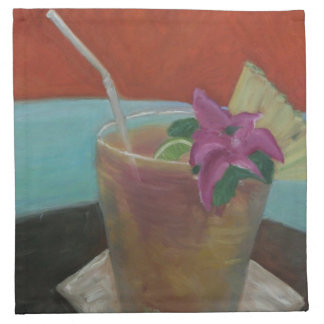 Mai Tai Cocktail Napkins