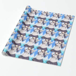 Maid By The Beach Wrapping Paper