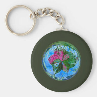 Maid in the mist in the globe keychains