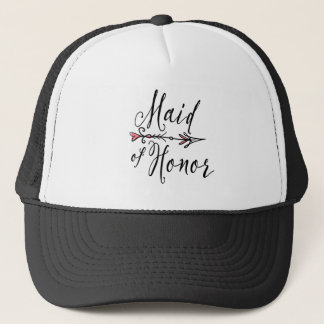 Maid of Honor Bride Tribe   Trucker Hat