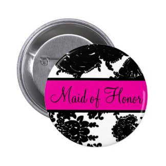Maid of Honor Buttons