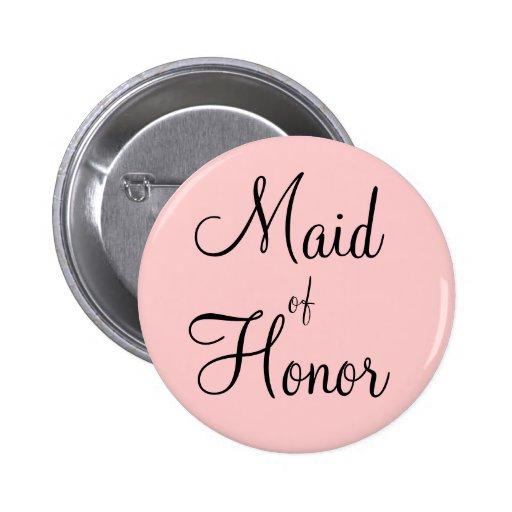 Maid of Honor Pins