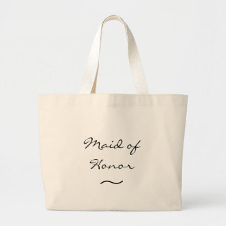 Maid of Honor - Canvas Tote