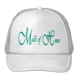 Maid of Honor Cap Trucker Hat