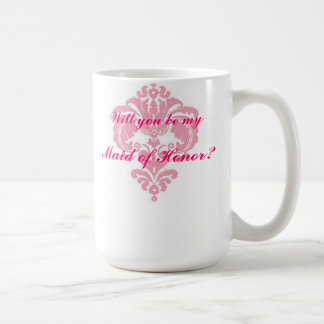 Maid of Honor Coffee Mug Gift