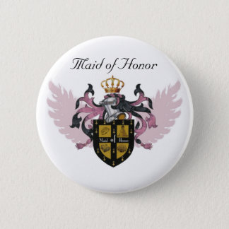 Maid of Honor Crest - Button