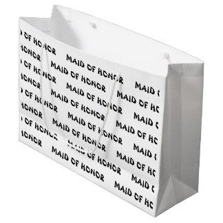 """Maid of Honor"" Gift Bag"