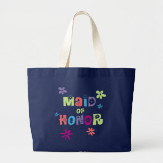 Maid of Honor Gifts and Favors Large Tote Bag