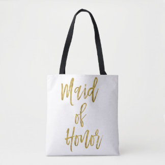 Maid of Honor Gold Wedding Bag