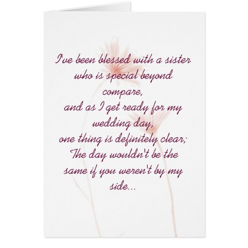 Maid Of Honor Invitation Cards