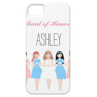 Maid of Honor iPhone 5 Cases