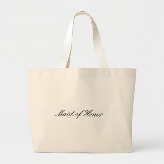 Maid of Honor Large Tote Bag