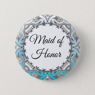 Maid of Honor Party  button