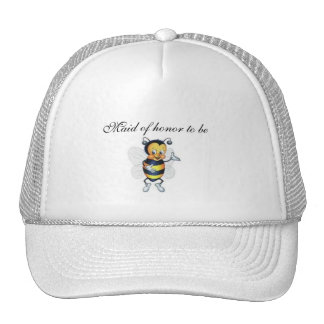 Maid of honor to be trucker hat
