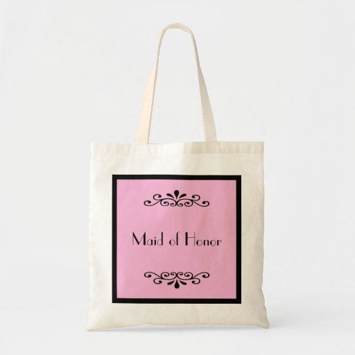 Maid of Honor Tote Bag -- Custom Color