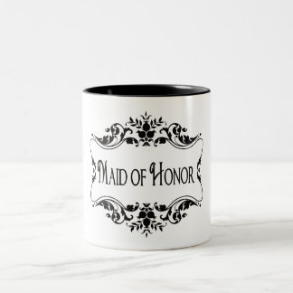 Maid of Honor Two-Tone Coffee Mug