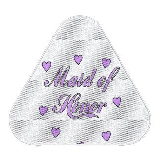 Maid of Honor Wedding Hearts Blueooth Speaker