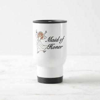 Maid Of Honor Wedding Stainless Steel Travel Mug