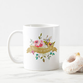 Maid of Honour Bouquet Coffee Mug