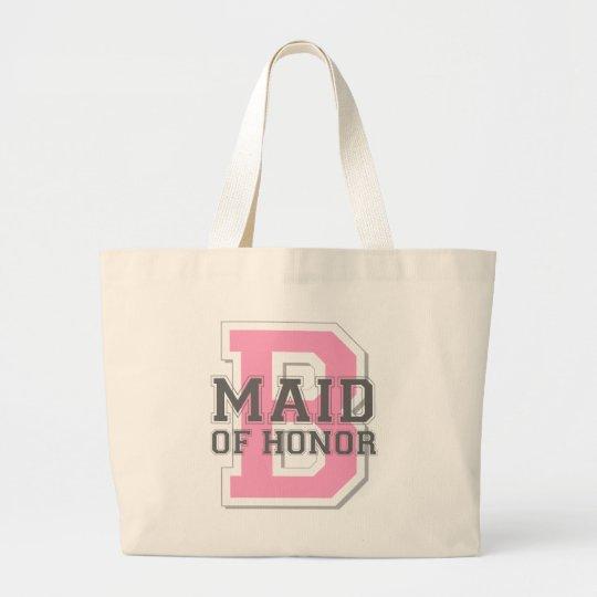 Maid of Honour Cheer Large Tote Bag