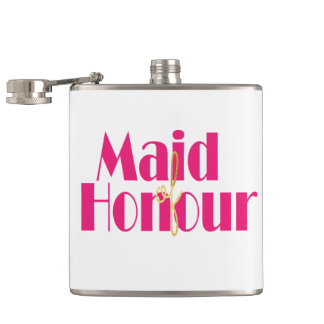 Maid-of-honour. Hip Flask