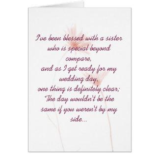 Maid Of Honour Invitation