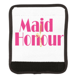 Maid-of-honour. Luggage Handle Wrap