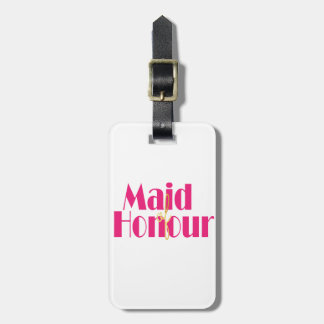 Maid-of-honour. Luggage Tag