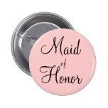 Maid of Honour Pins