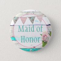 Maid of Honour Shabby Vintage Rustic Wedding