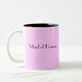Maid of Honour Thank You Mug